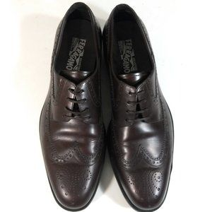 Salvatore Ferragamo Men Wingtip Dress Shoes 11 D